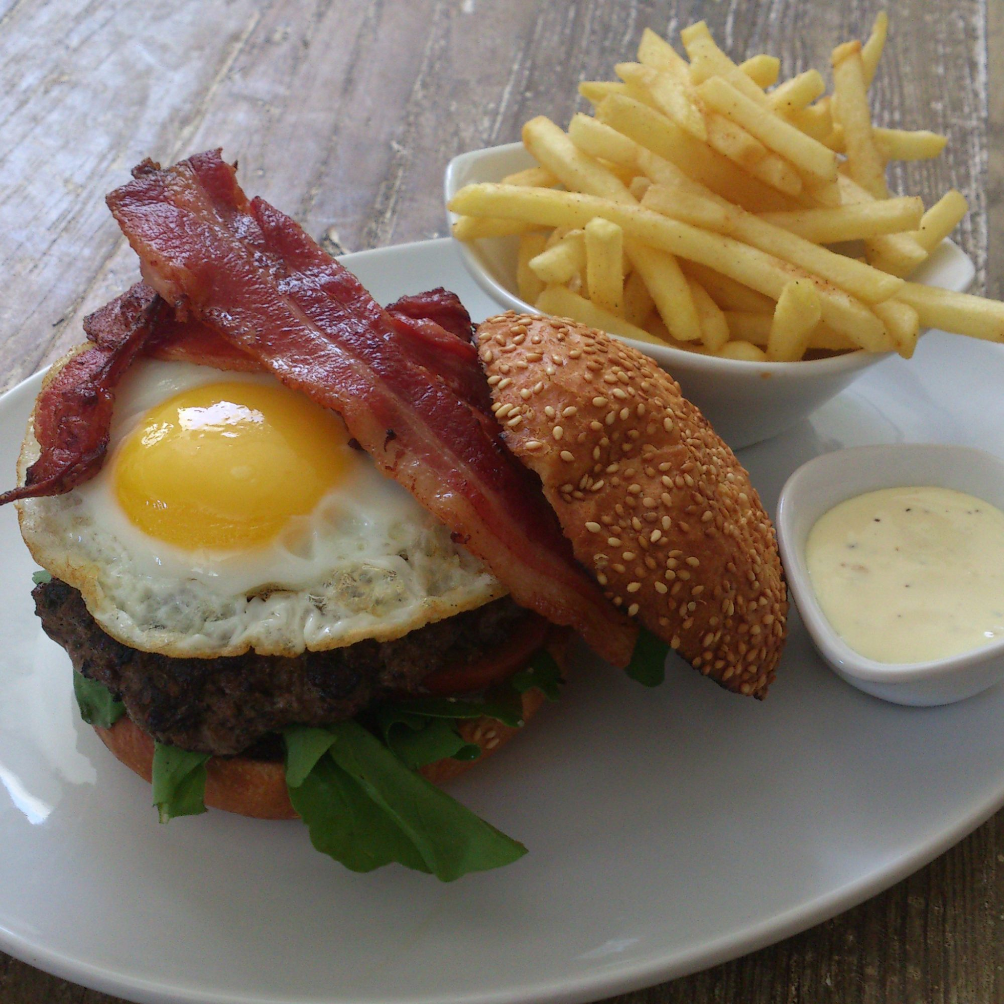 FWX WHERE TO FIND CAPE TOWN HANGOVER CURES LATITUDE 33 BACON AND EGG BURGER