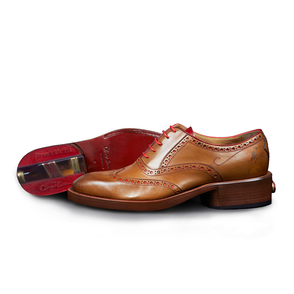 FWX WHISKEY SHOES JOHNNIE TAN LEATHER BROGUE