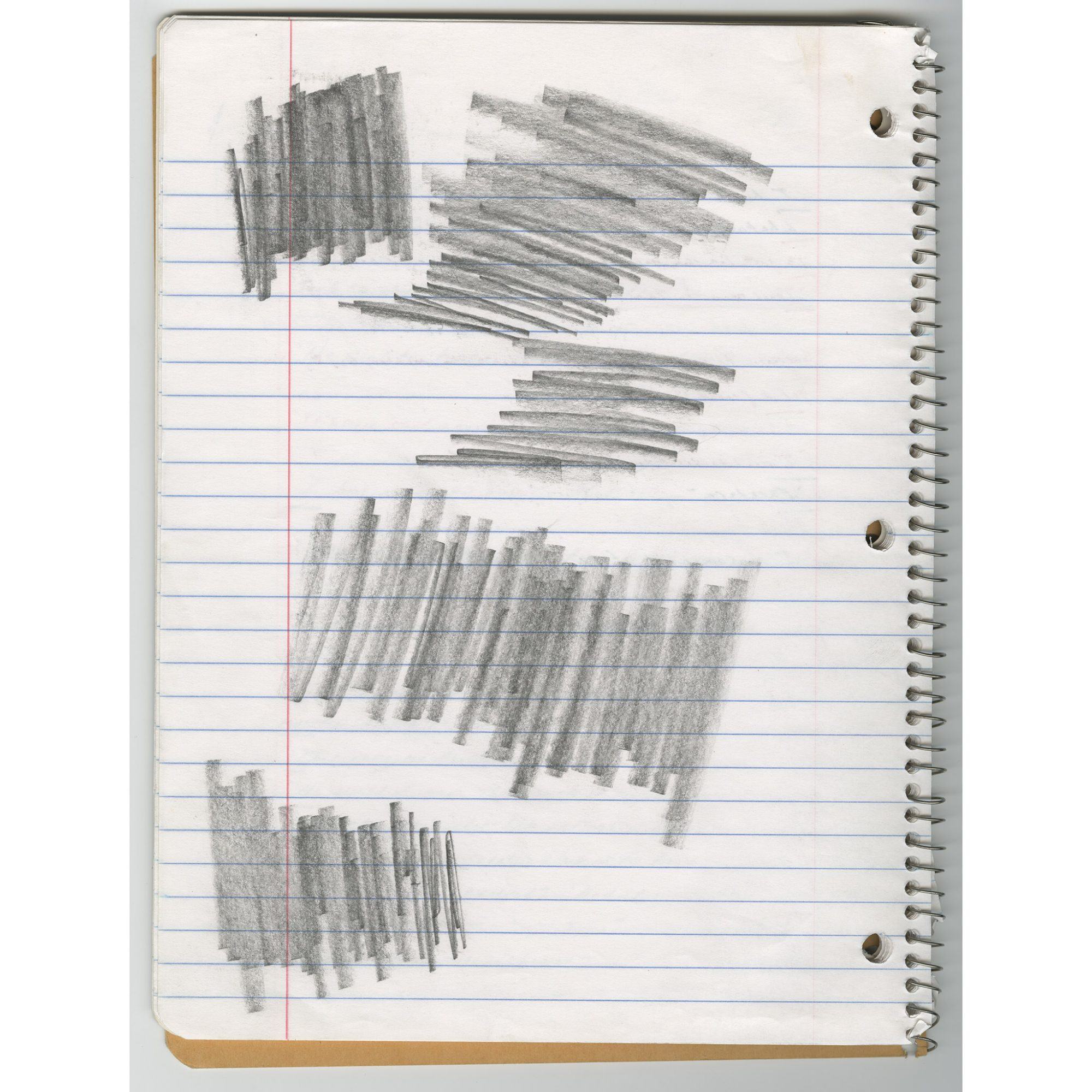 """Page from the Pale King materials, """"Midwesternism"""" notebook, undated. Manuscript notebook, 10 1/2 x 8 1/4 in. (26.7 x 21.0 cm). Harry Ransom Center, The University of Texas at Austin. Image used with permission from the David Foster Wallace Literary Trust"""