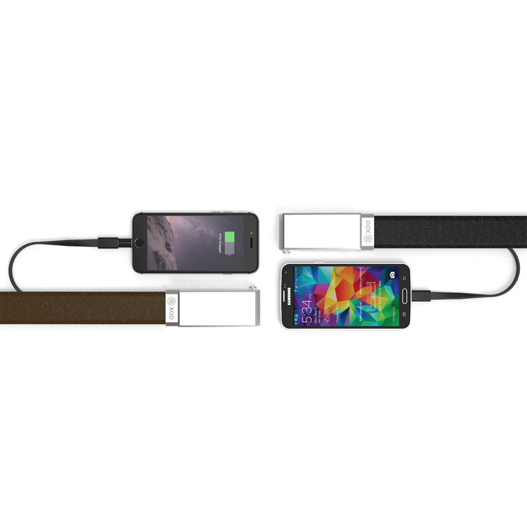 A Belt That Makes Sure Your Phone Will Never Die in a Bar Again