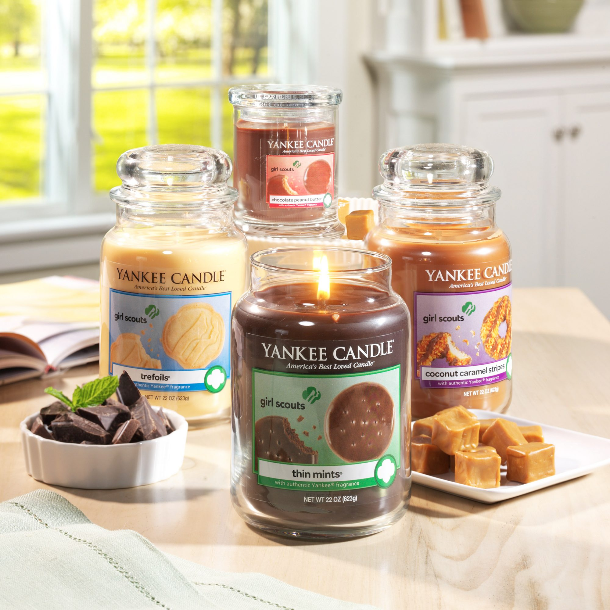 Girl Scout Cookie Scented Candles for When You Want Your Living Room to Smell Like Thin Mints