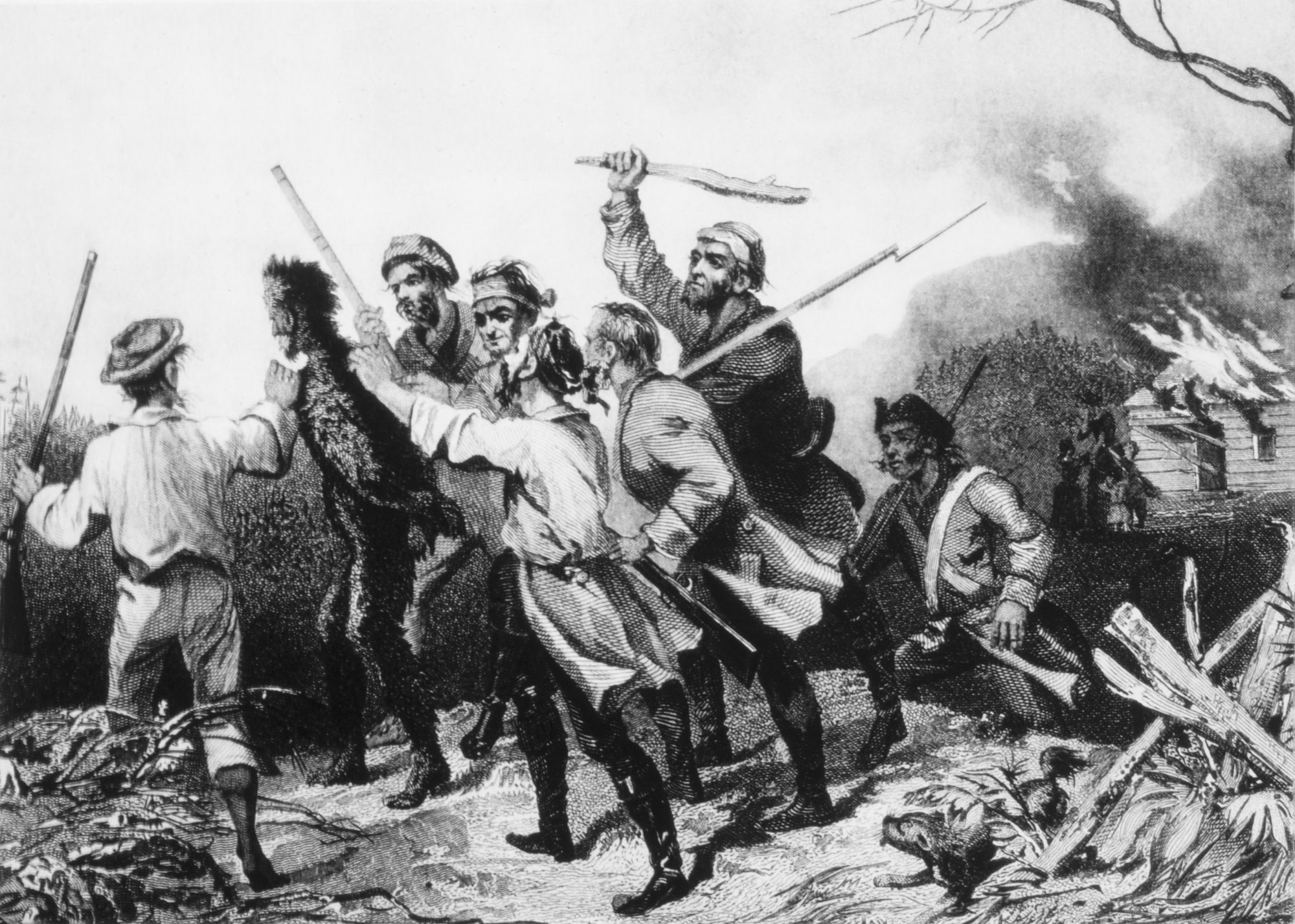 Tarring and Feathering, Whiskey Rebellion