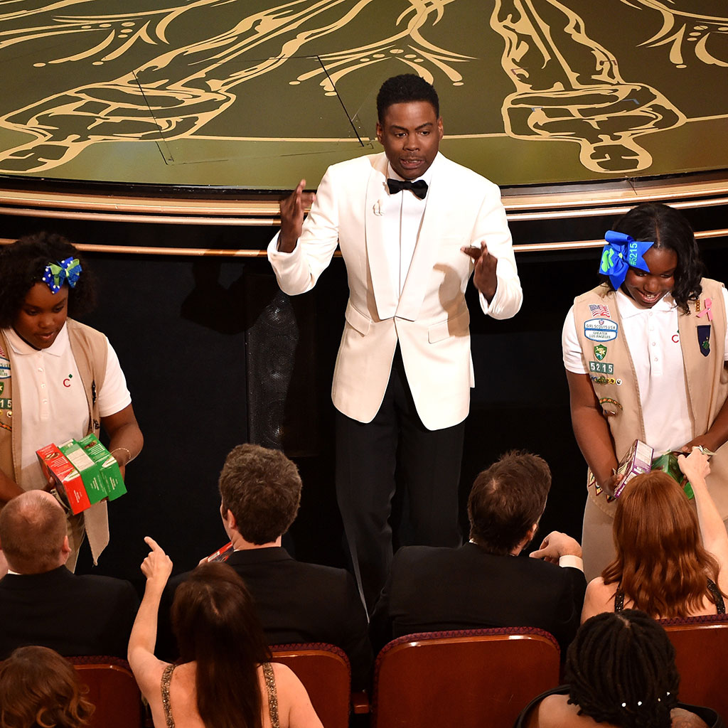 GIRL SCOUT COOKIES AT THE OSCARS FWX