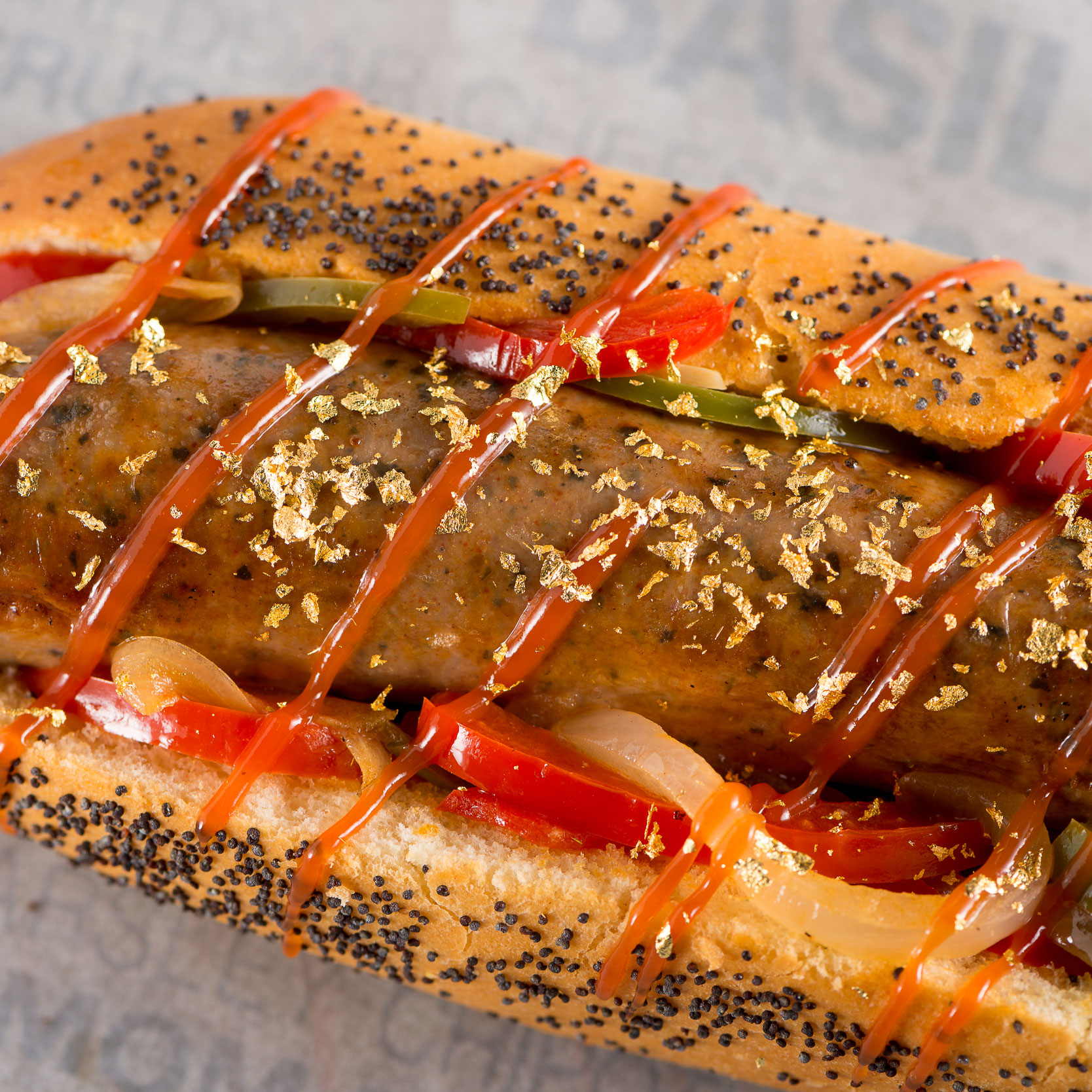 GOLD DUSTED HOT DOG FWX