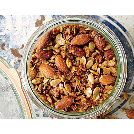 Granola with Pumpkin Seeds and Almonds