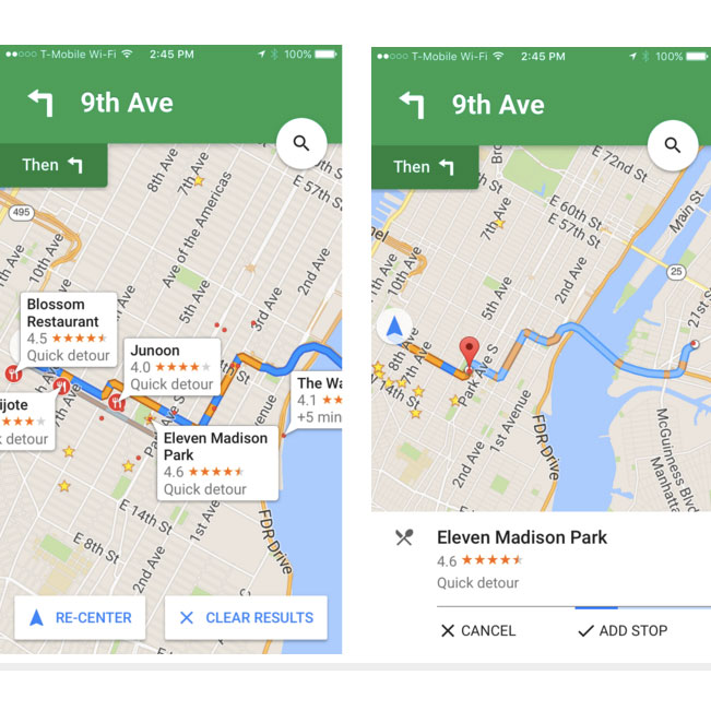 You Can Set All Your Pit Stops in Google Now