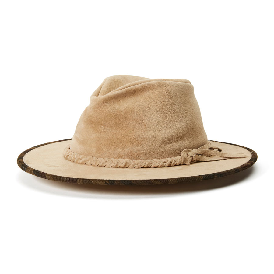 Goorin Bros. Bishop Leather Fedora Hat