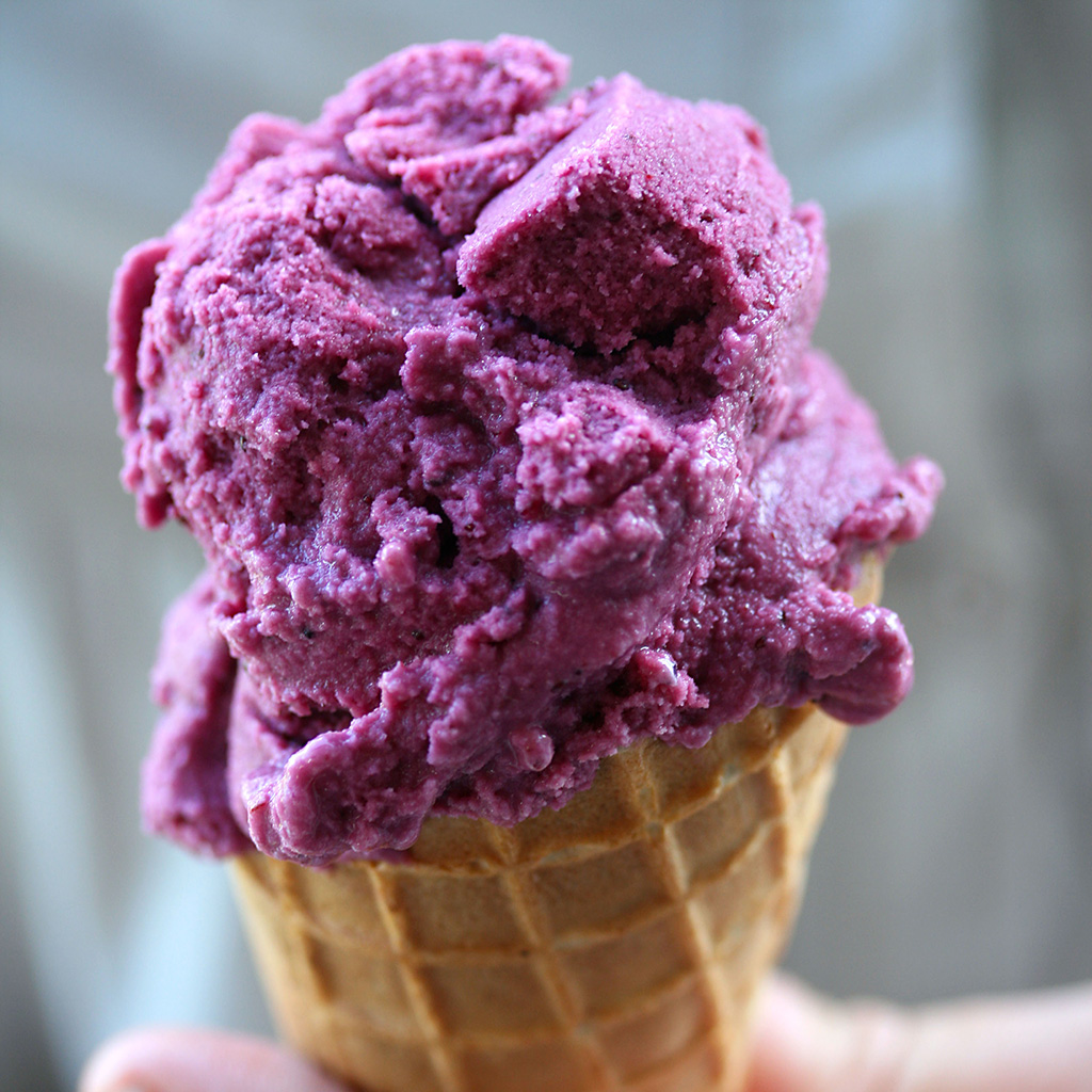 grape ice cream