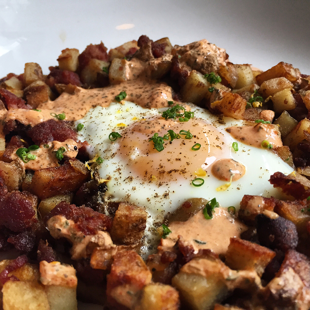 HANGOVER CURES GREENHOUSE TAVERN ANIMAL HASH FWX
