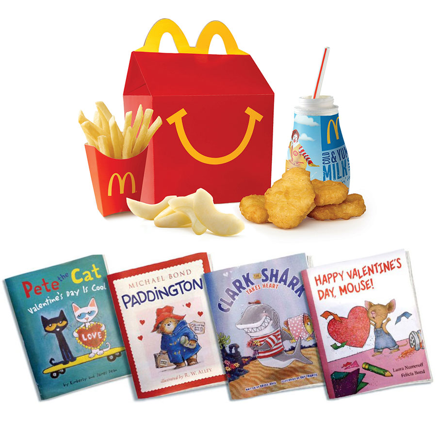HAPPY MEAL BOOKS WITH MEAL FWX 2