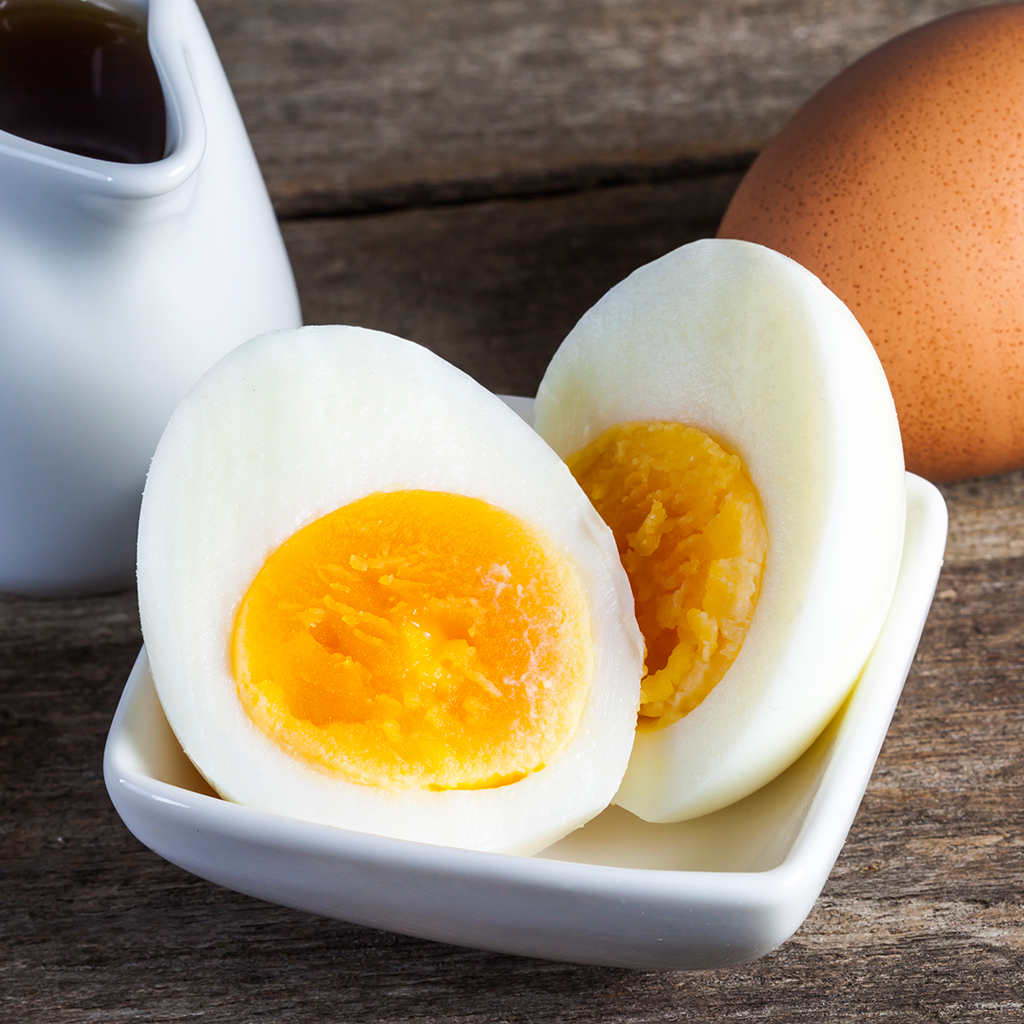 HARD BOILED EGGS IN THE OVEN FWX