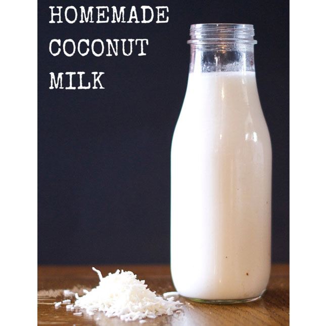 dairy free milk recipes, dairy free, coconut