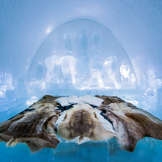 ice hotel Cairn Forest