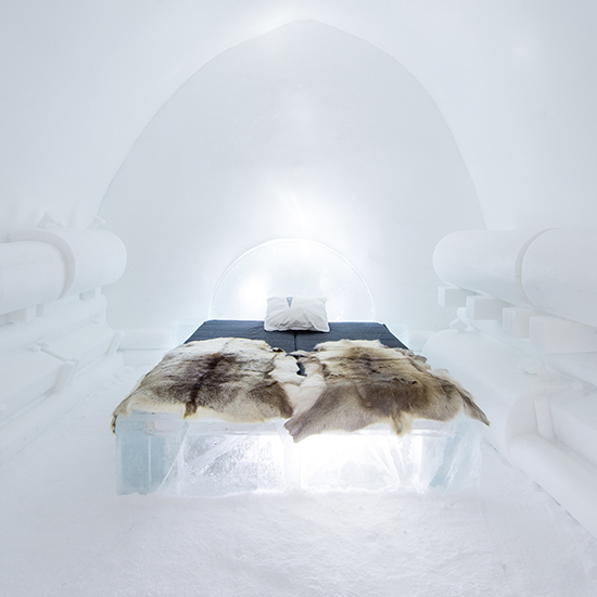 ice hotel The Power of Love