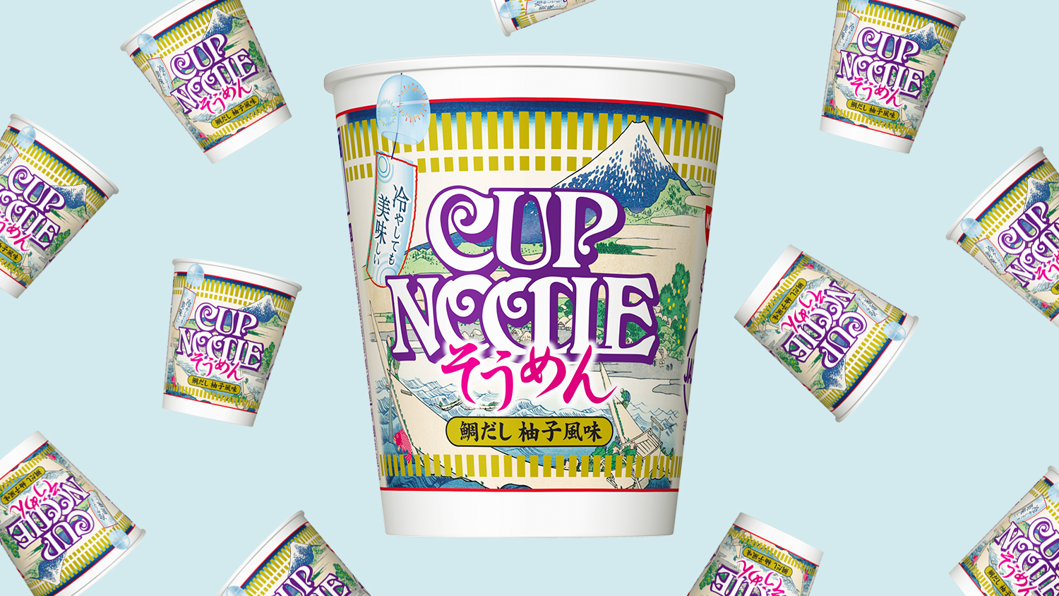 Iced Cup Noodles Are Here Just in Time for Summer
