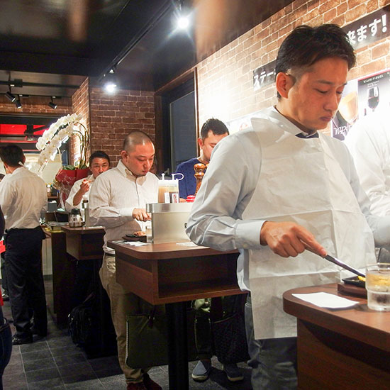 Japan's Standing Room Only Steakhouse, Ikinari Steak, Is