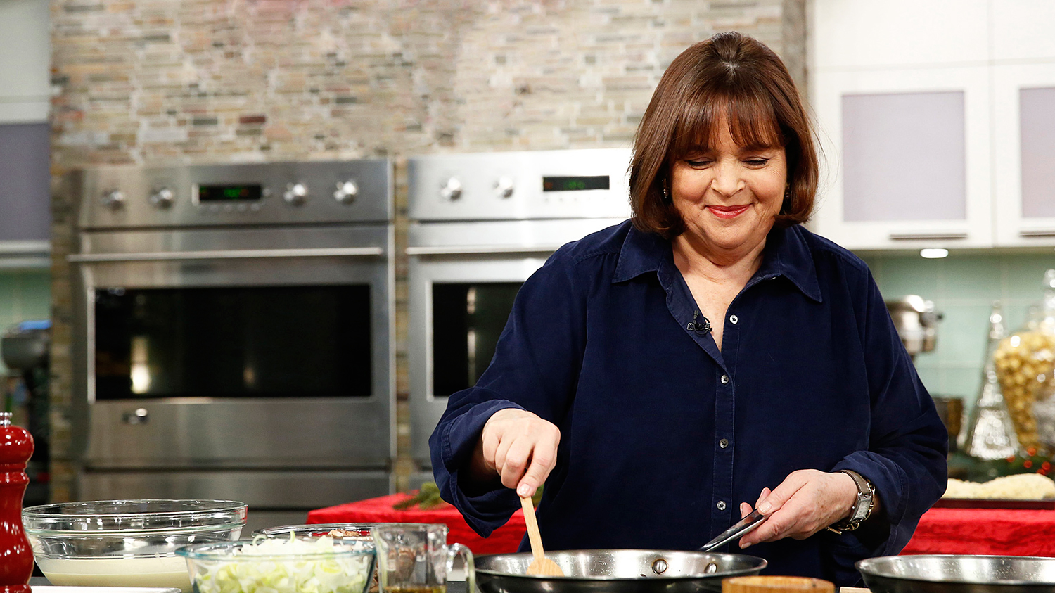 ina garten decorating a flag cake is downright mesmerizing | food