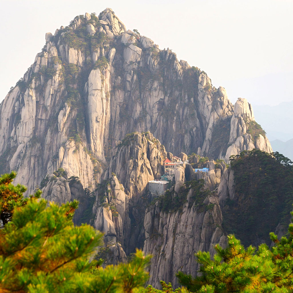 Jade Screen Hotel in Huangshan, China