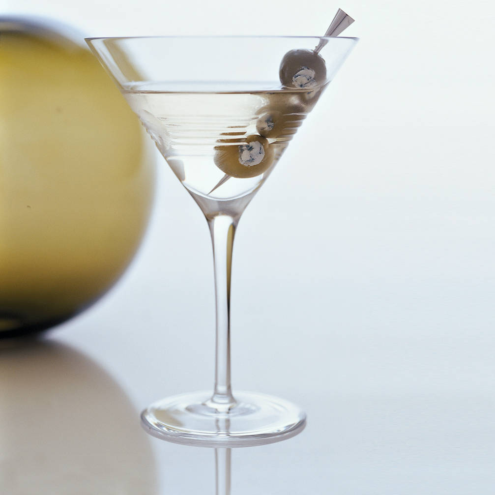 Macaroni and Cheese: James Bond Martini