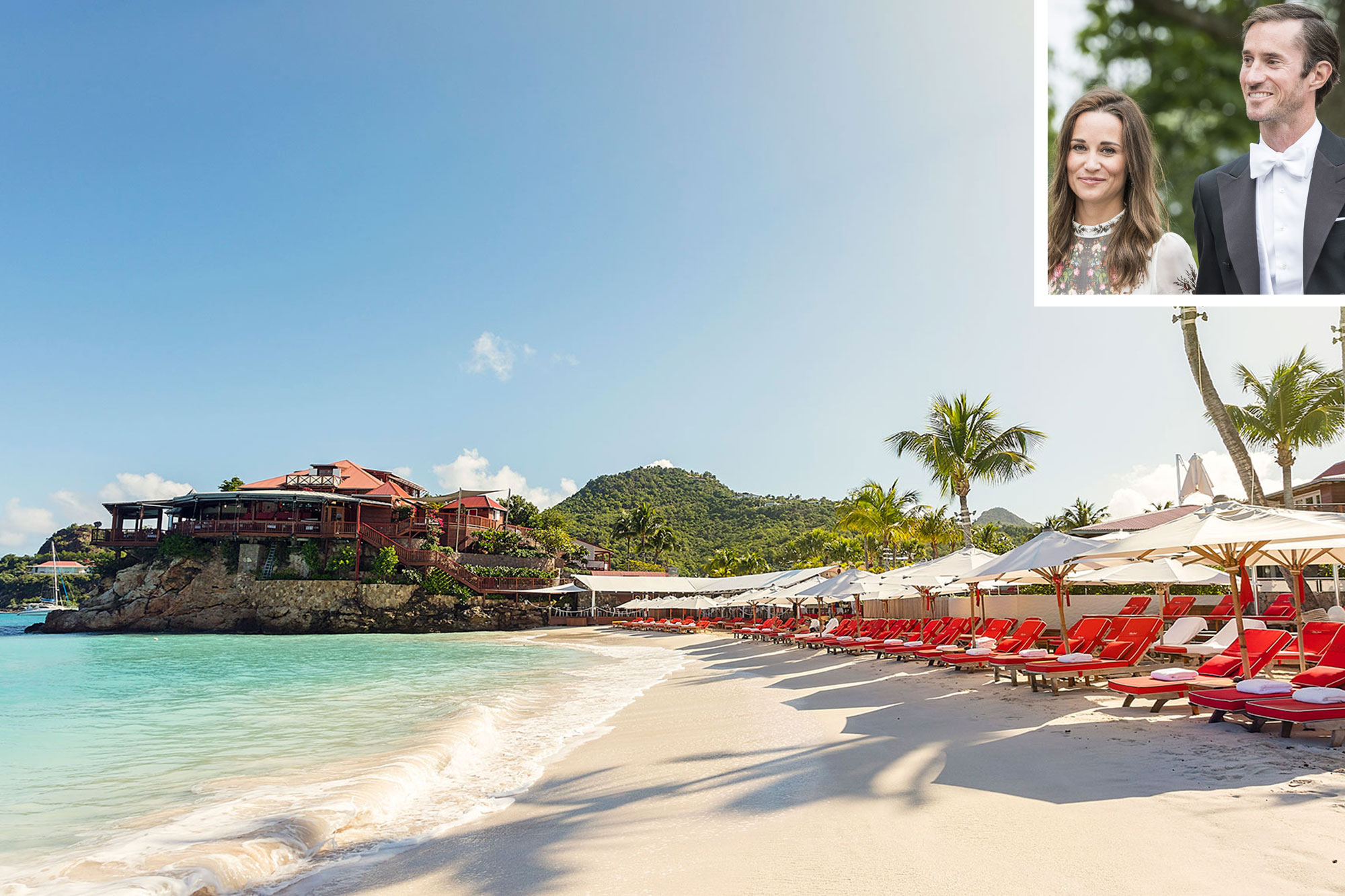 St. Bart's Most Exclusive, Celeb-Frequented Resort Is Owned by Pippa Middleton's New In-Laws