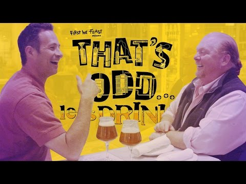 Watch Mario Batali and Dogfish Brewery's Sam Calagione Turn Food Waste Into Beer