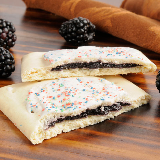 Blackberry toaster pastries