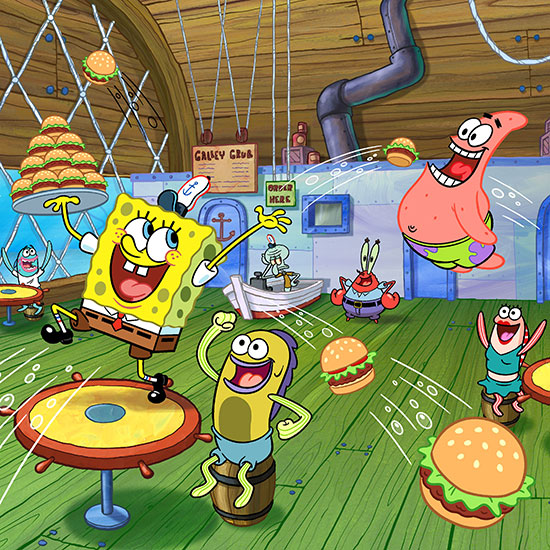 Court Rules In Favor Of Spongebob In Krusty Krab Complaint Food
