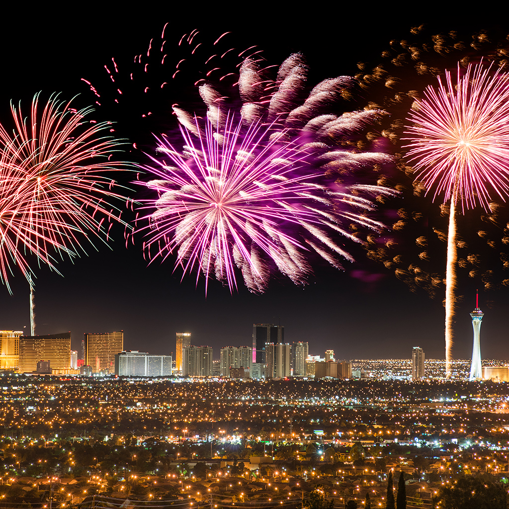 Fireworks, Fourth of July, Las Vegas