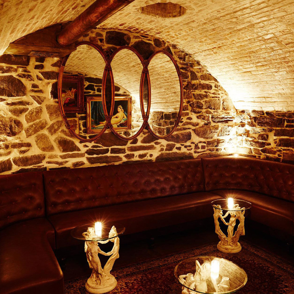 The Cocktail Bar in America's Oldest Tunnel
