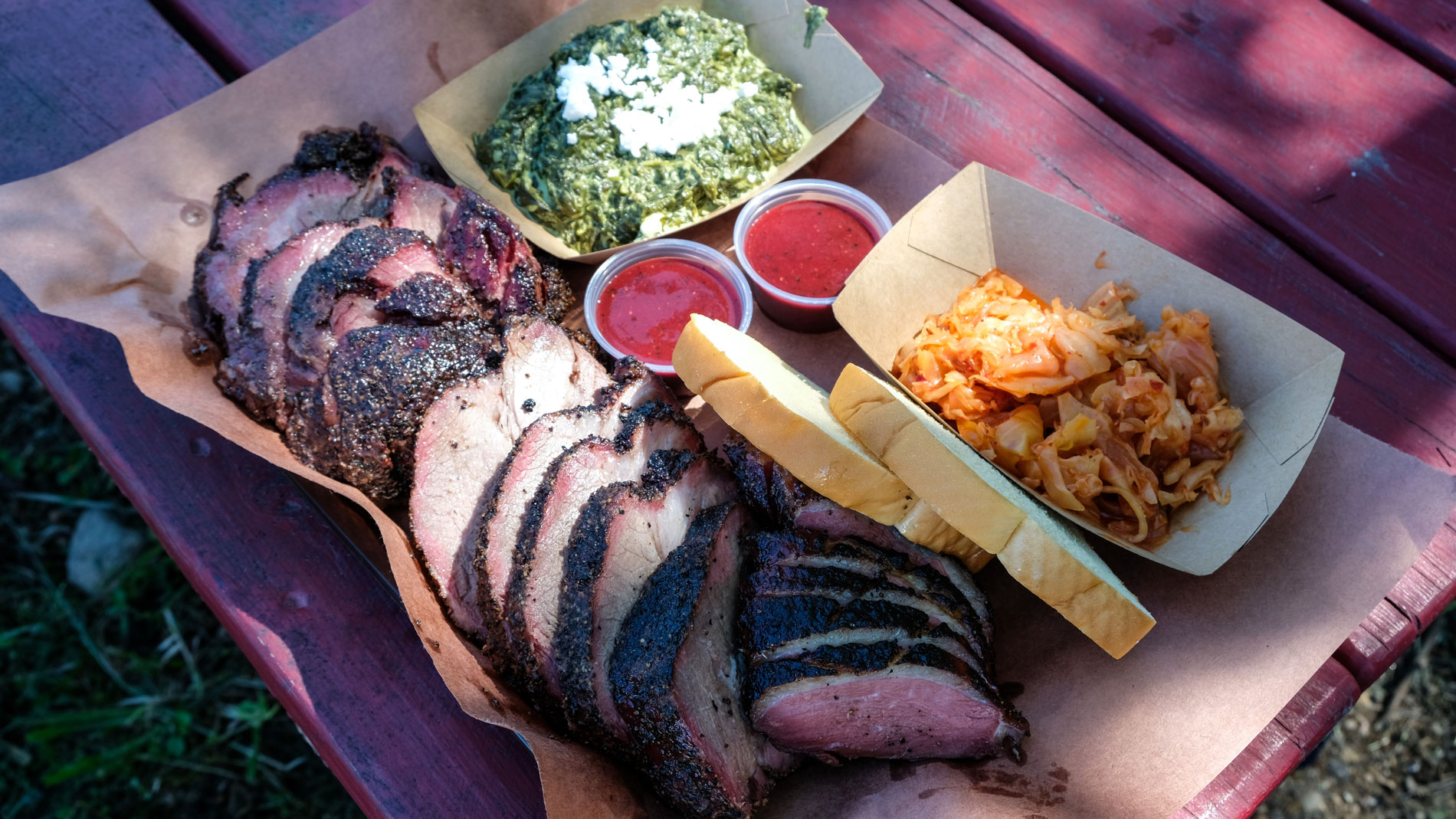 The Changing Faces and Plates of Texas BBQ