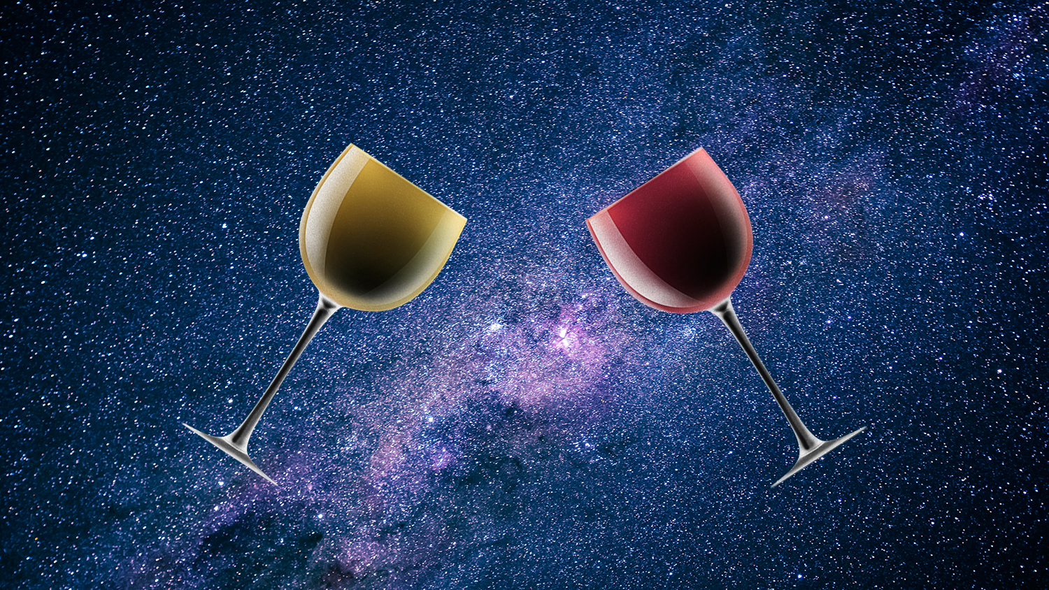 making wine in space