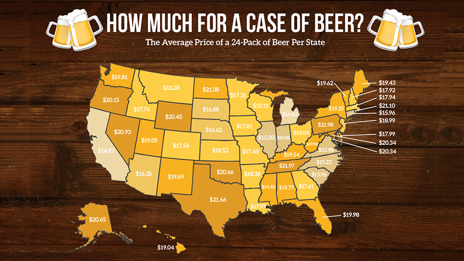mapping out beer prices