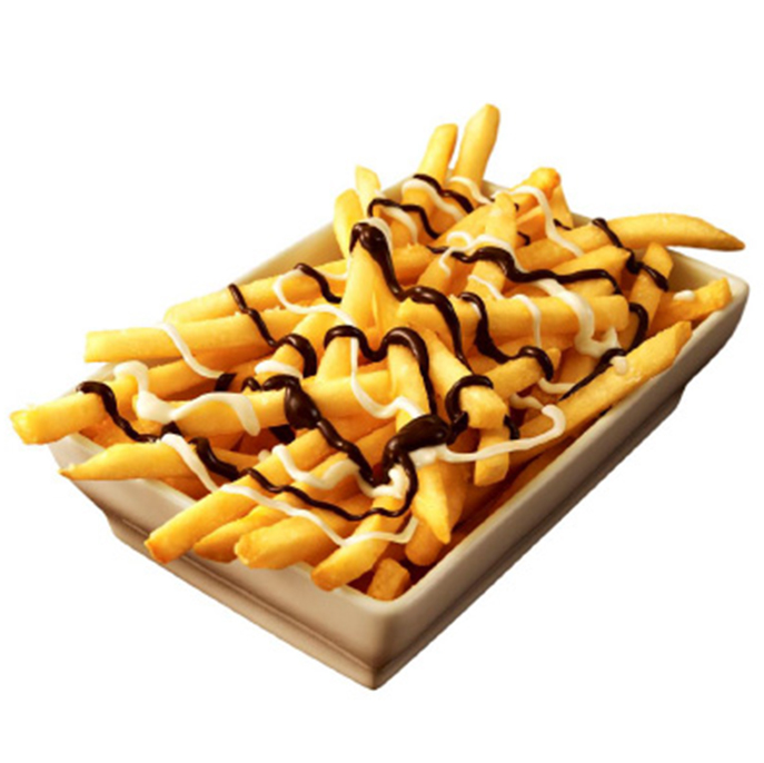 MCDONALDS CHOCOLATE FRENCH FRIES FWX