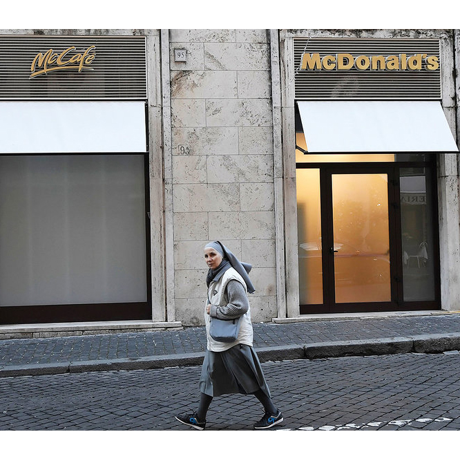 McDonald's Opens Next to the Vatican, and Not Everyone Is Happy