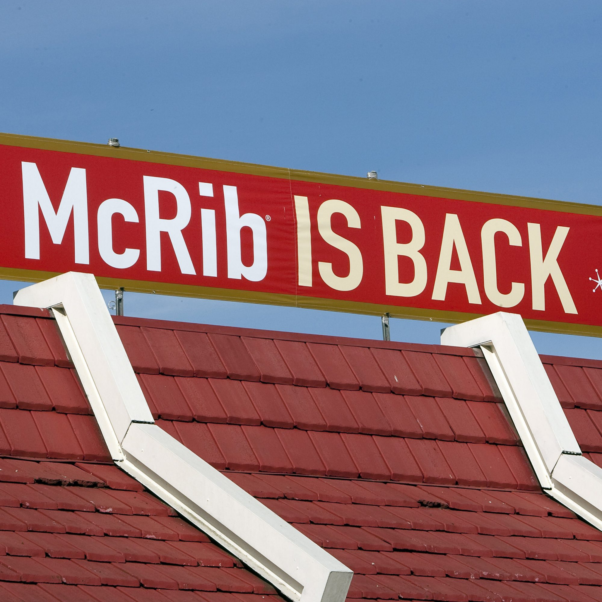 This Year, The Path To The McRib Starts With An iPhone App