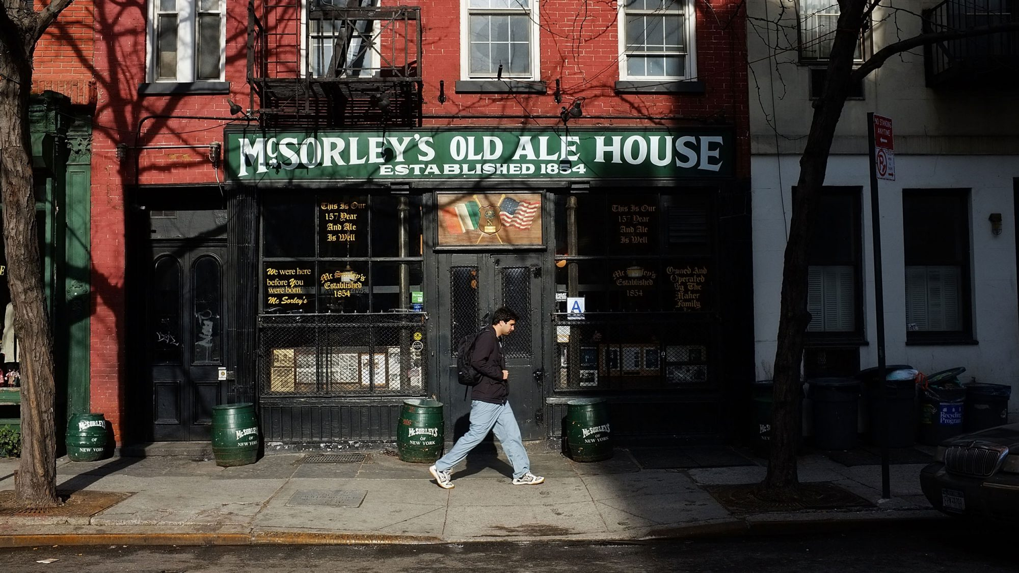 McSorley's Ale House Closed by Health Department