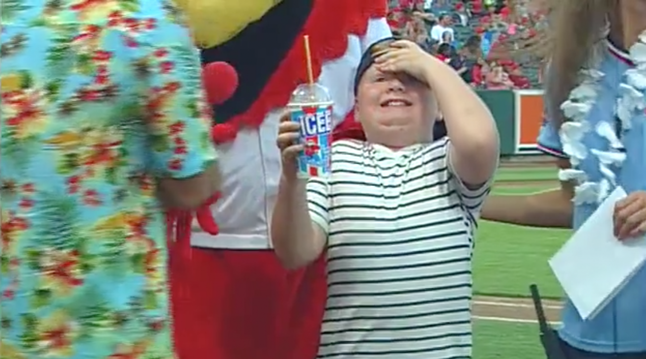 Kid wins slushy-drinking contest, but at what cost?