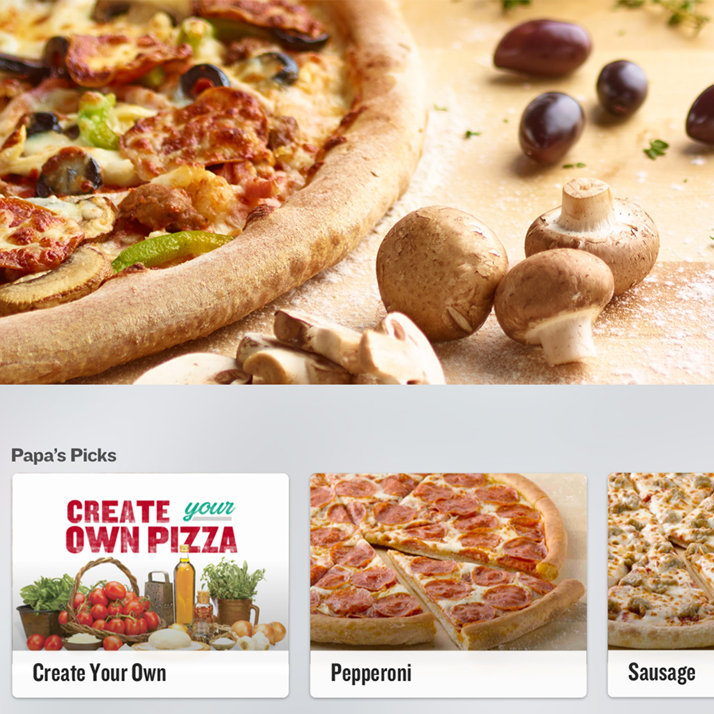 Papa John's, Apple TV