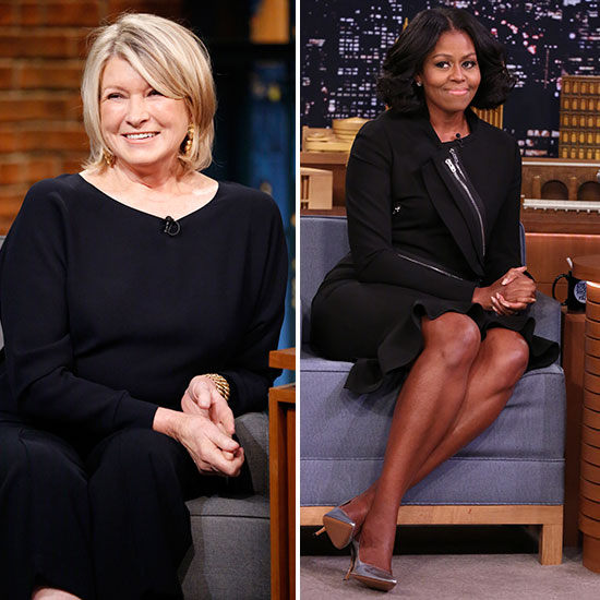 michelle obama and martha stewart