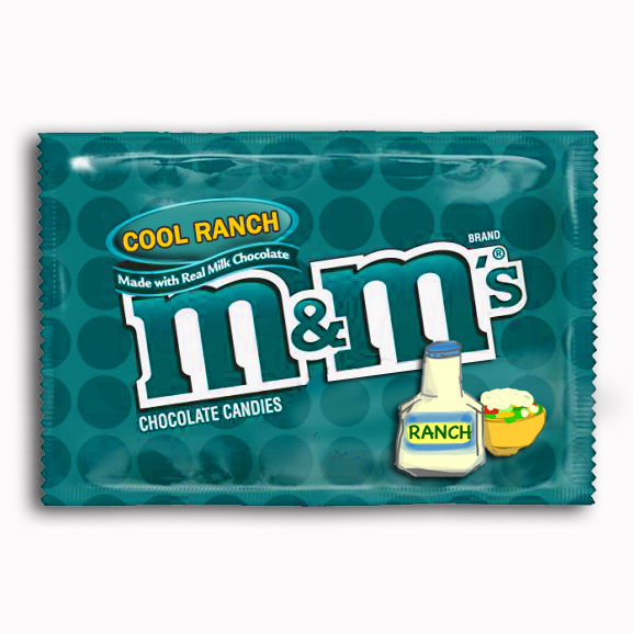 Cool Ranch M&M's