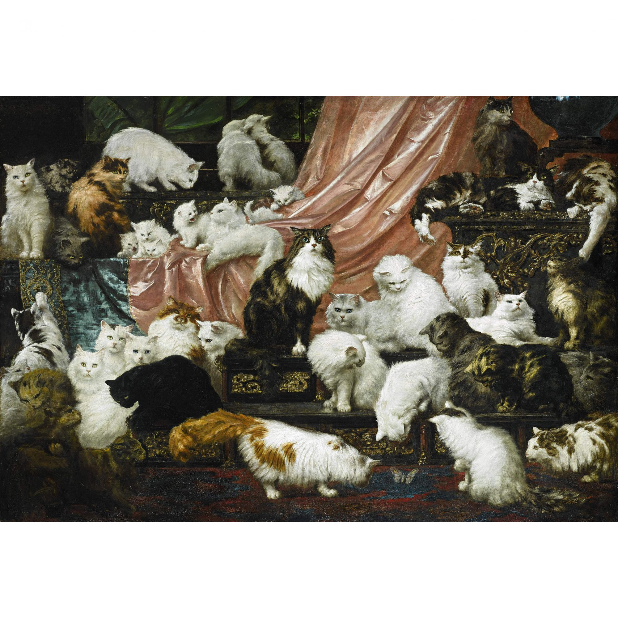 Don't Miss Your Chance to See the World's Greatest Cat Painting
