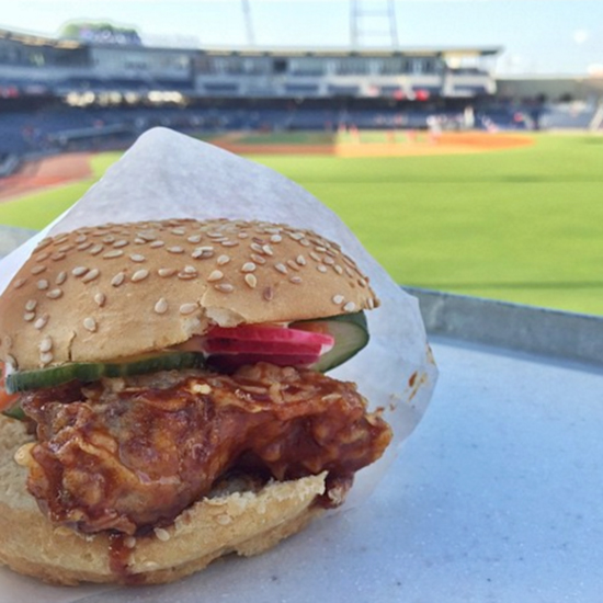 Nashville Ball Park Chicken Sandwich