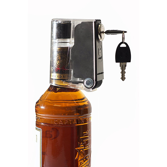 To Drink Less Alcohol: A Bottle Lock