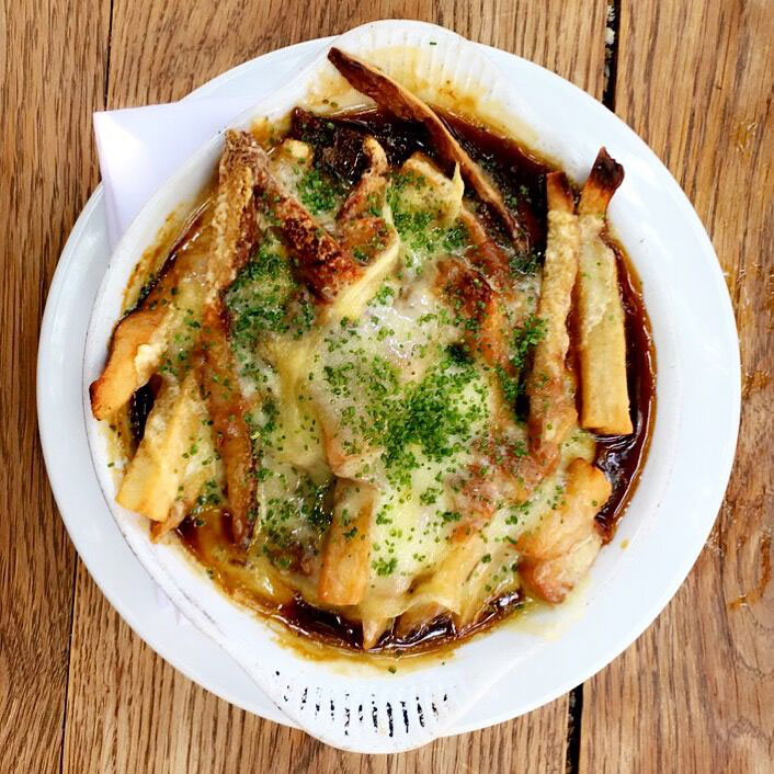 french onion soup poutine fries