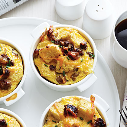 sausage eggs and cheese casserole