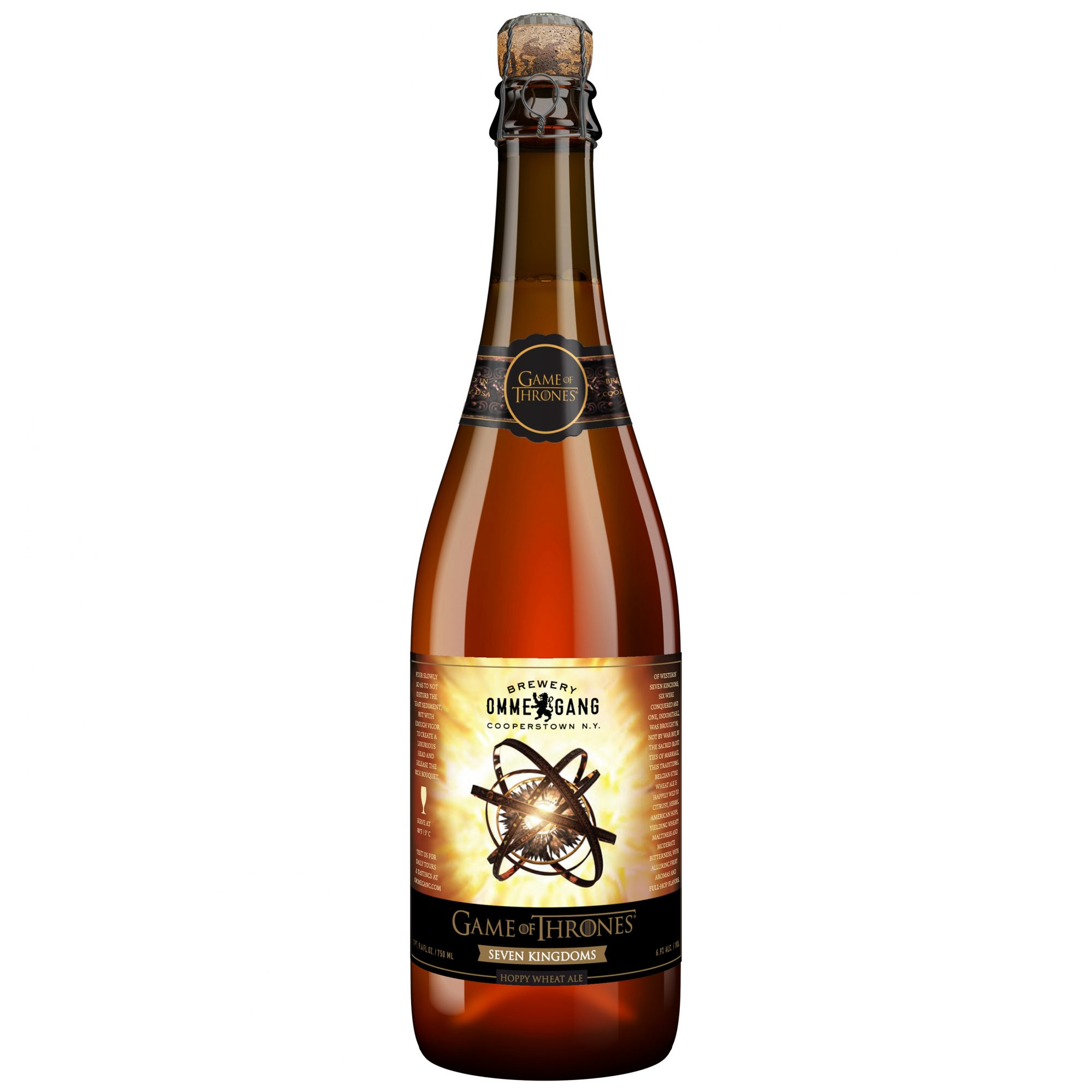 OMMEGANG GOT NEW BEAR FWX