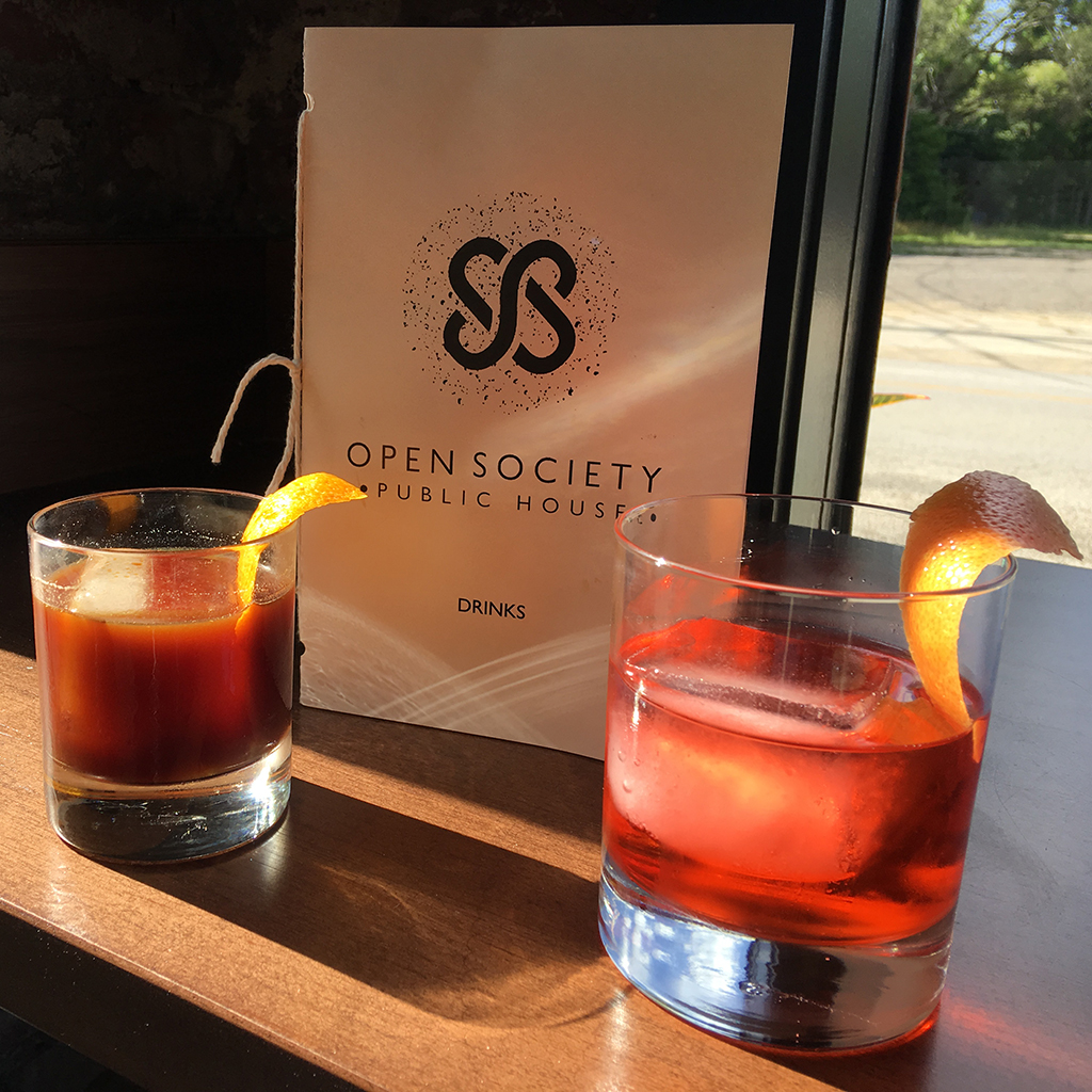 drinks, Indianapolis, city guide, cocktails, Open Society