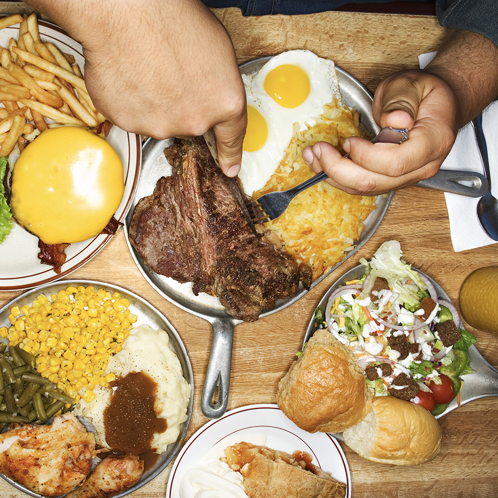 ORDERING TOO MUCH FOOD AT RESTAURANT FWX