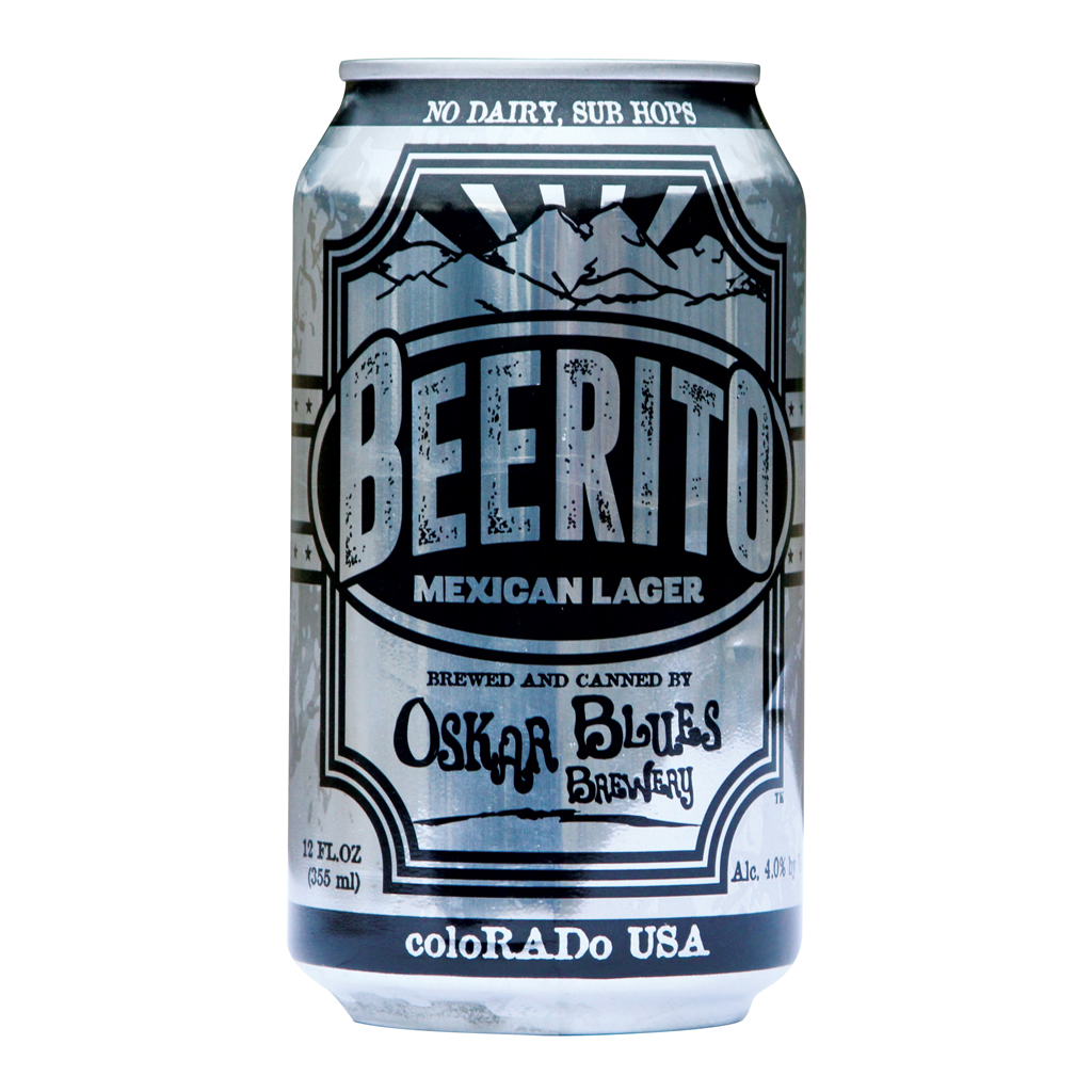 OSKAR BLUES BEERITO MEXICAN LAGER FWX
