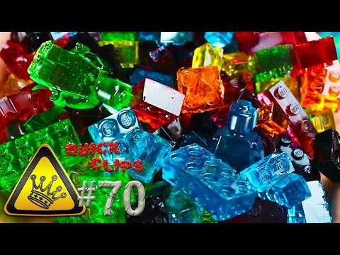 How to Make Fully Stackable Lego Gummy Candies